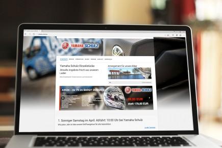 Webdesign Yamaha Schulz