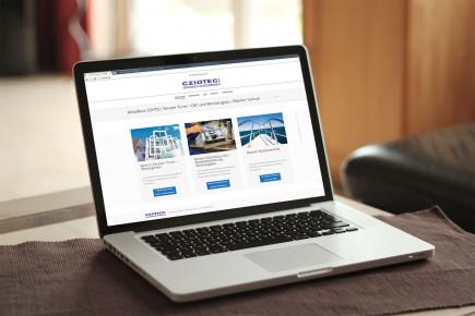Webdesign Internetseite Cziotec Greifswald
