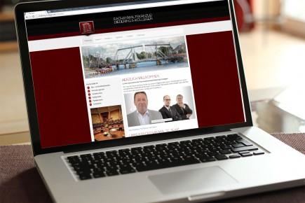 Webdesign Rechtsanwalt Diedering und Kollegen