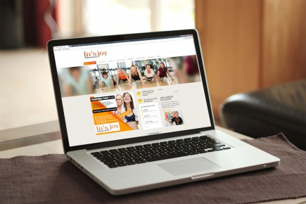 Webdesign Frauenfitnesscenter fit N´joy Greifswald
