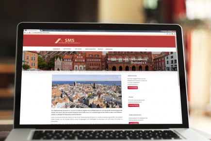 Webdesign Stadtmarketing Stralsund
