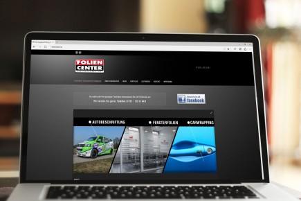 Webdesign Foliencenter Hannover