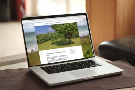 Webdesign Ferienhaus Nati Rügen