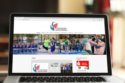 Webdesign Sportbund Greifswald